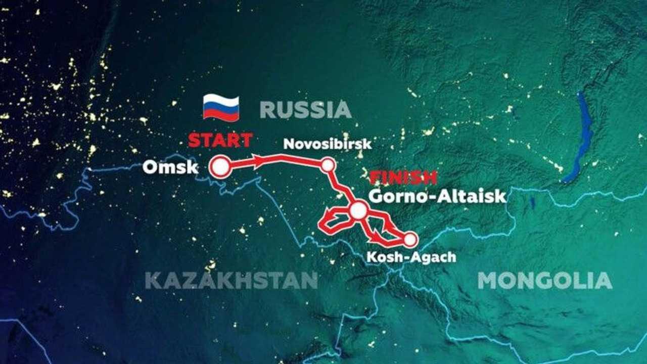2021Silk Way Route