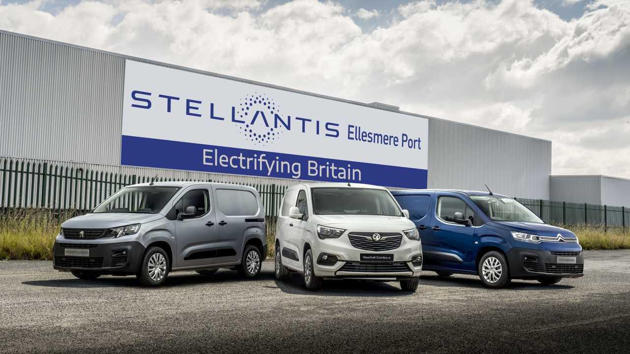 Ellesmere Port - Stellantis - Trio of new electric vans