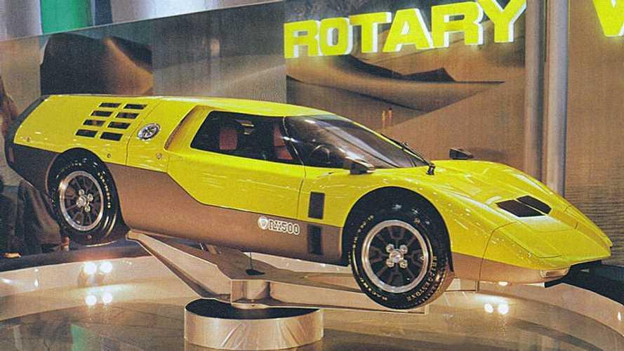Mazda RX500, da concept a modellino senza passare per la strada