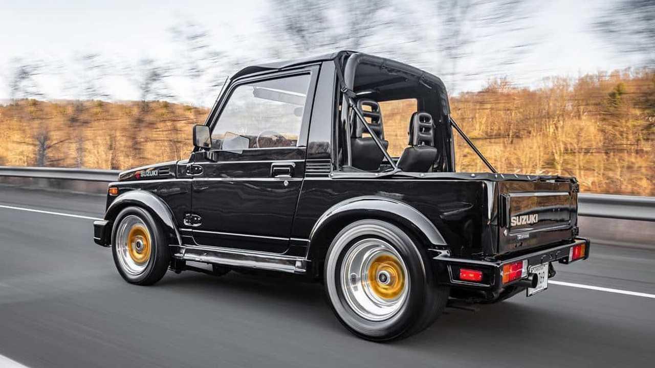La Suzuki Samurai con motore rotativo da 456 CV