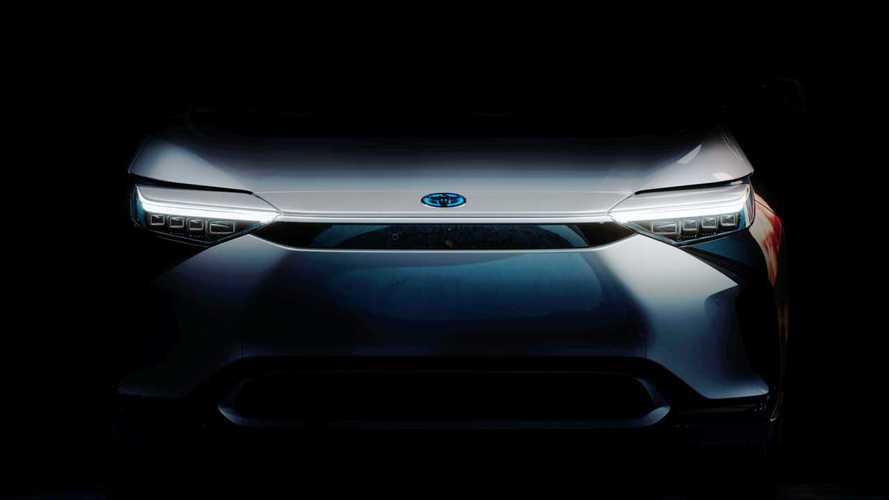 Toyota donne un aperçu de son crossover électrique