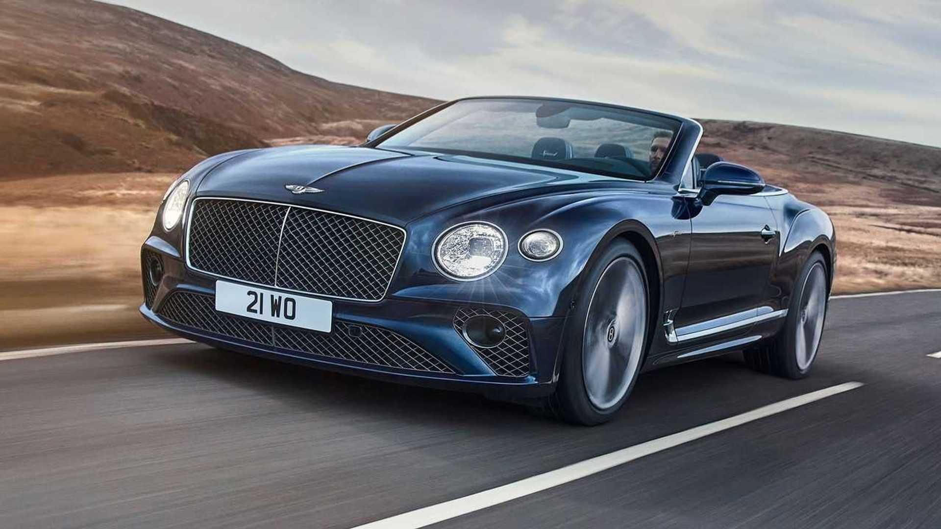 Bentley Continental GT Speed Convertible debuts as 650-bhp droptop