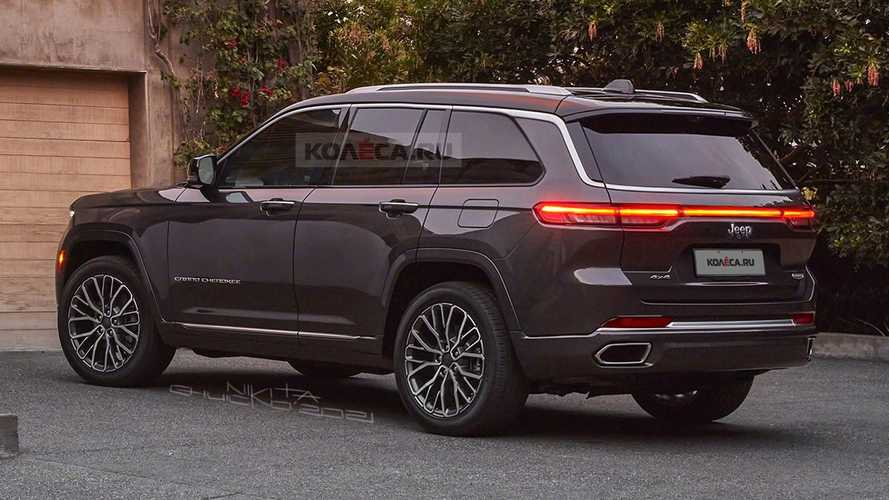 2022 Jeep Grand Cherokee renderings