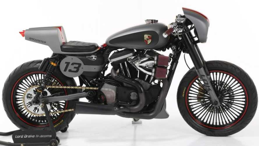 This Custom Sportster Has Been Inspired By The Porsche Speedster