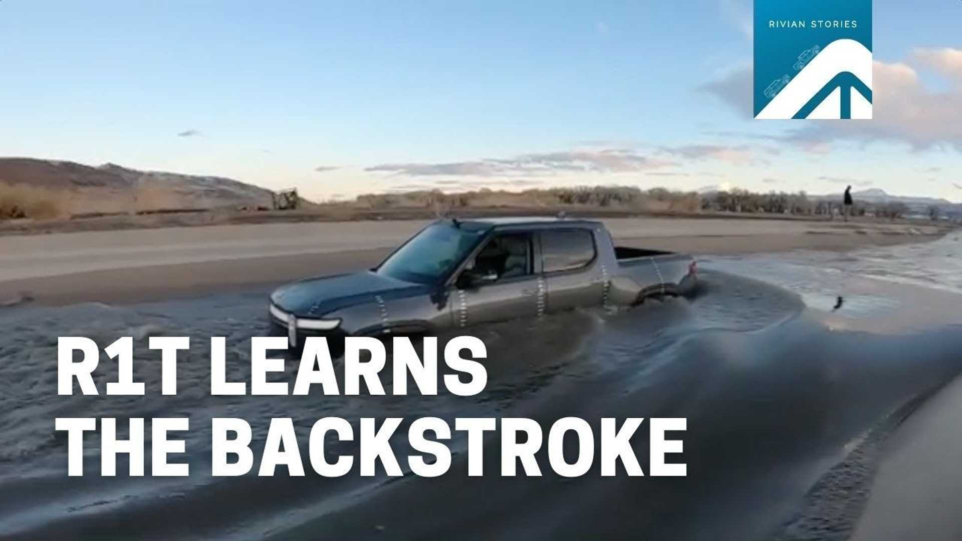 Rivian Joins Tesla In 'EVs As Boats' Club: R1T Learns Backstroke