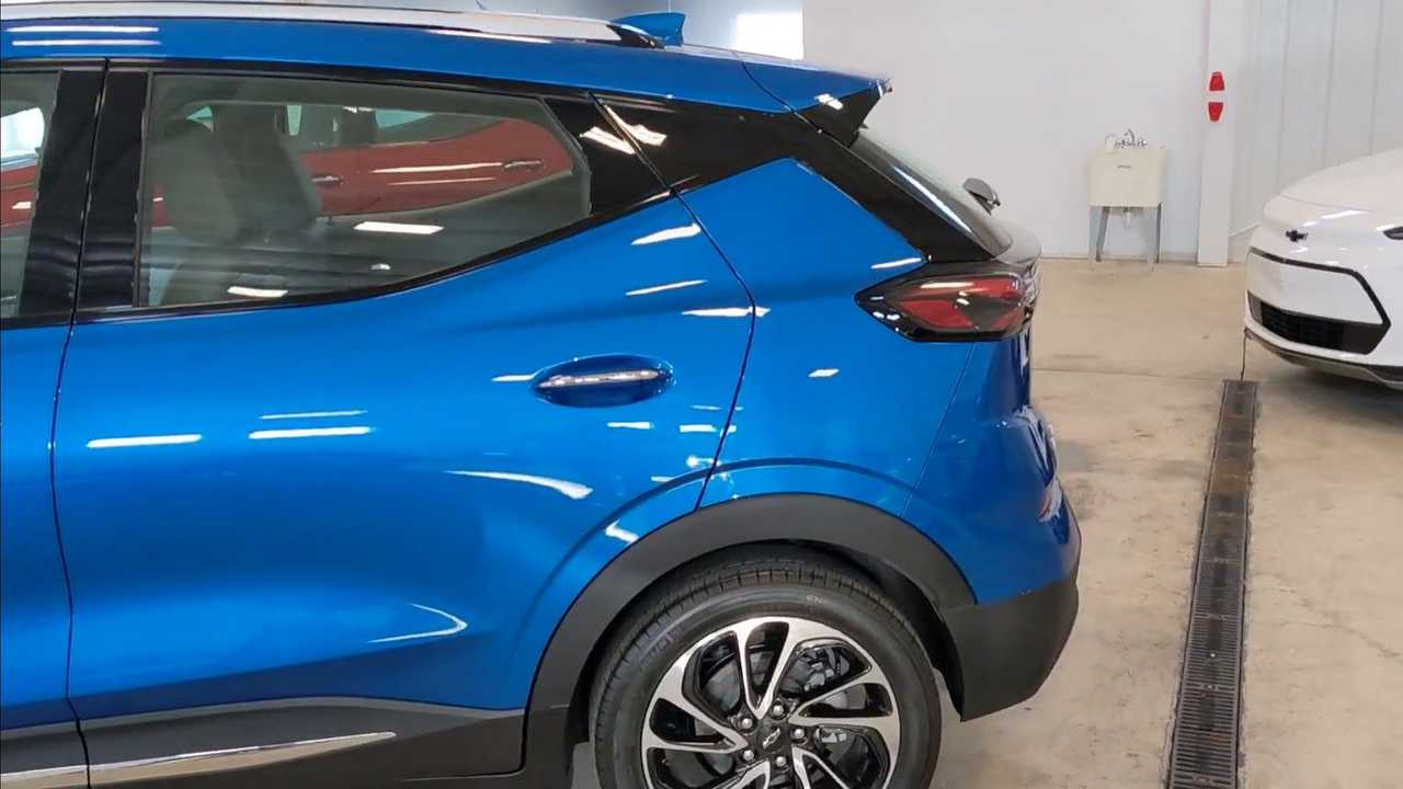 Chevy Bolt EUV rear