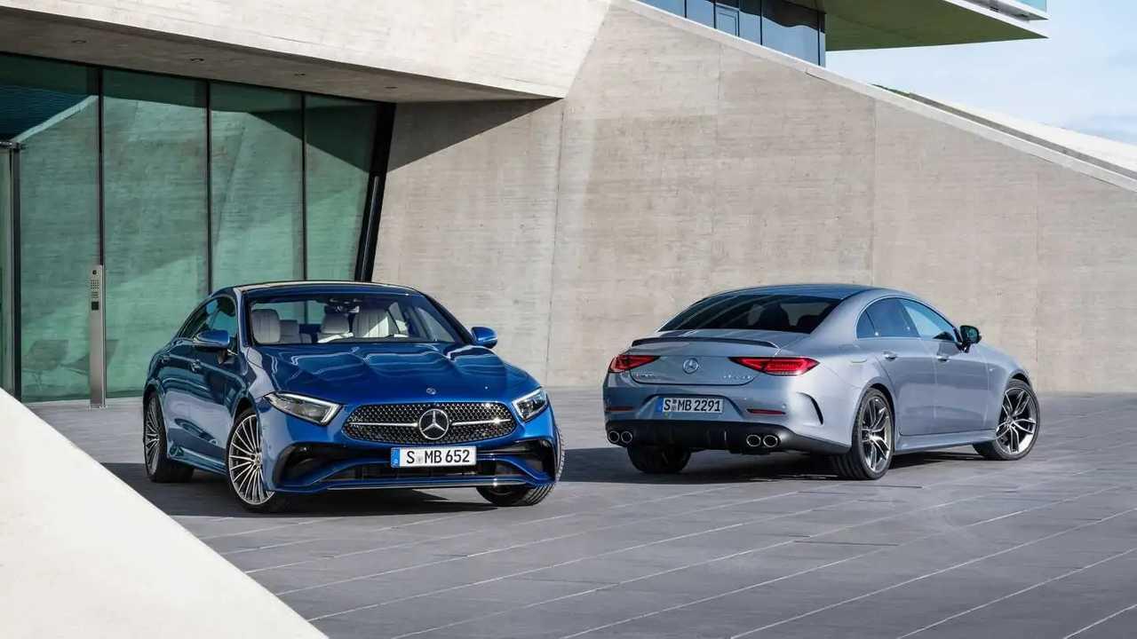Mercedes-Benz CLS restylée