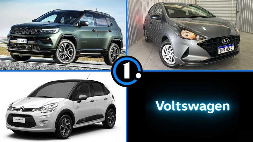 Semana Motor1.com: Novo Compass em pré-venda, a mentira da VW e mais