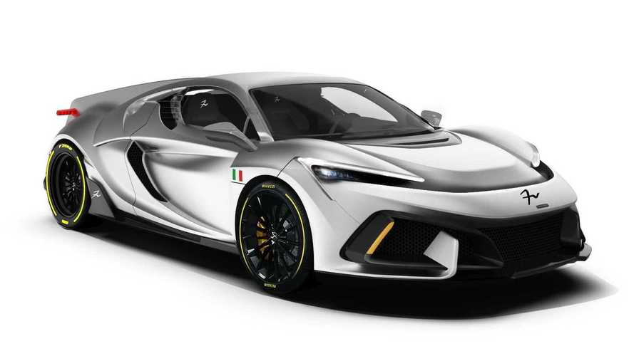 FV Frangivento Sorpasso is an Italian 850-bhp supercar you can rename
