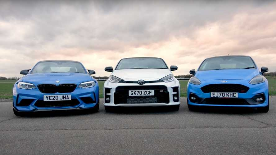 Can Toyota GR Yaris Beat Ford Fiesta ST And BMW M2 CS At The Track?