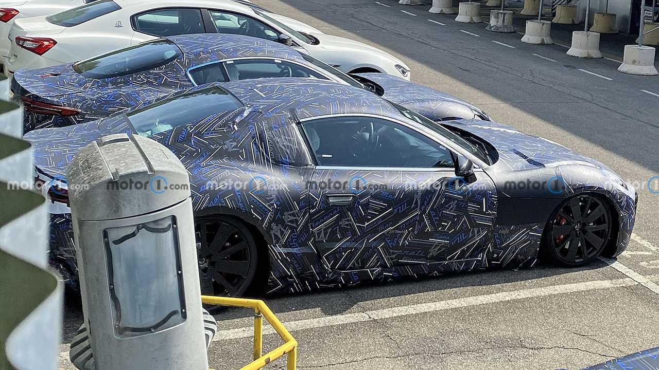 Maserati GranTurismo 2022 foto spia