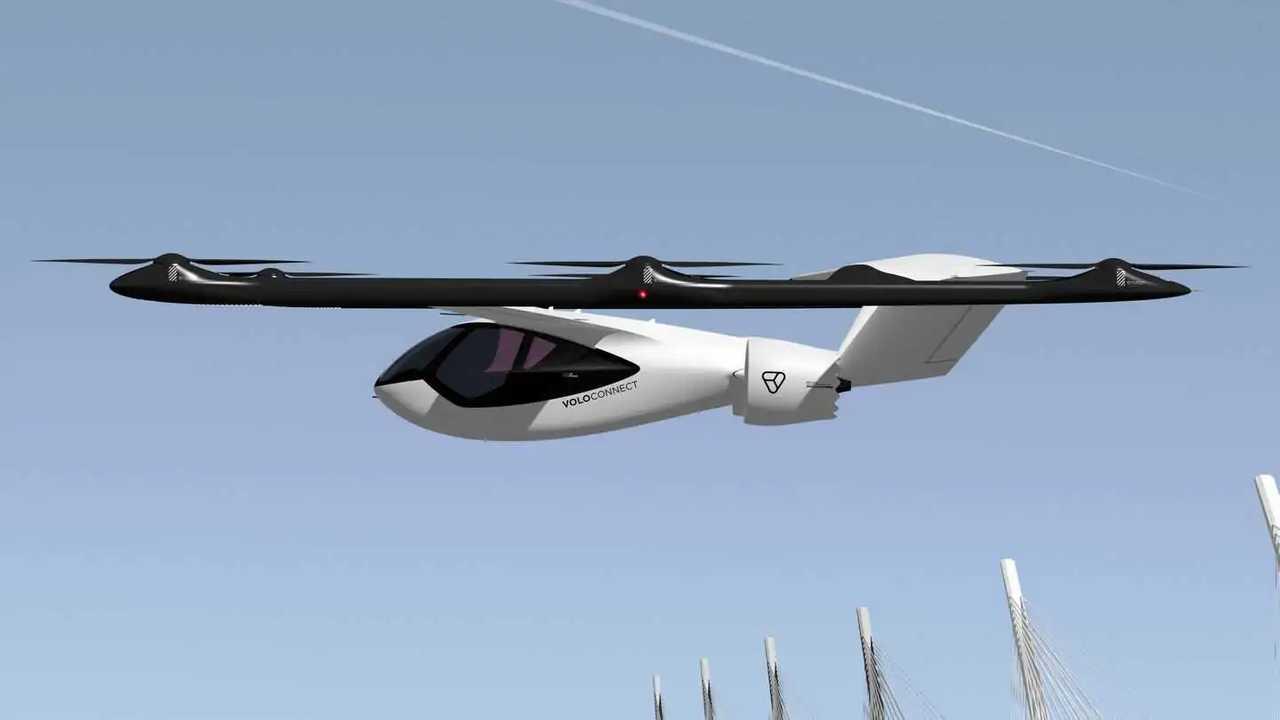 Volocopter stellt den VoloConnect vor