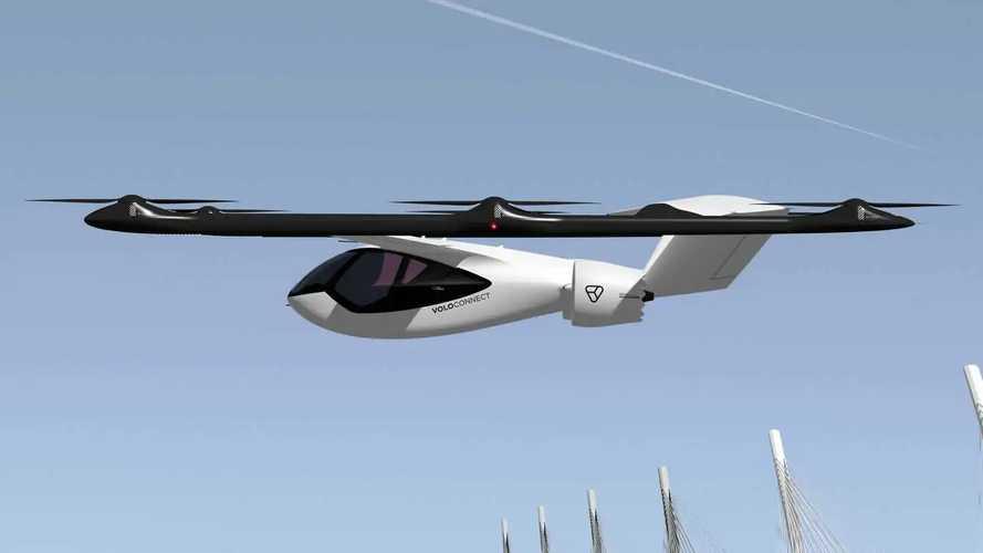 VoloConnect: Viersitzer-Version des Elektro-Flugtaxis vorgestellt