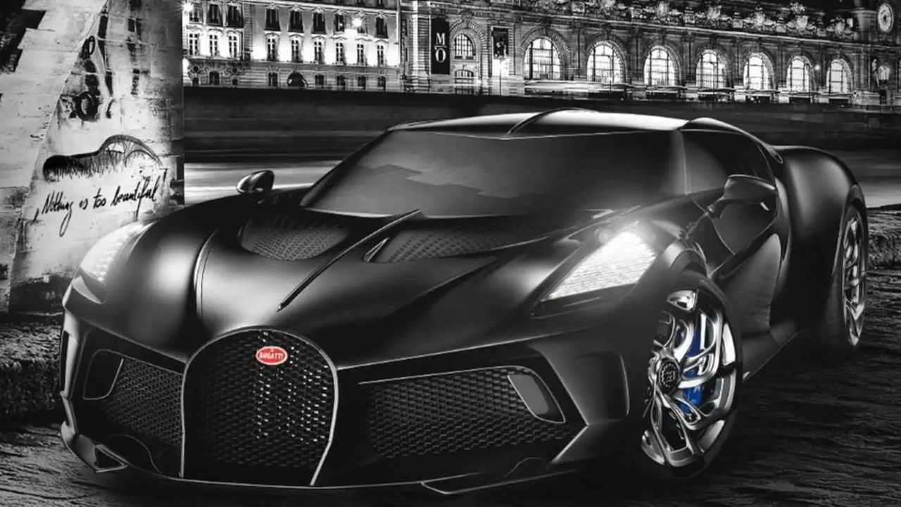 Bugatti La Voiture Noire final version teaser