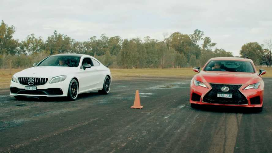Can Lexus RC F Beat The More Powerful AMG C63 S In A Drag Race?