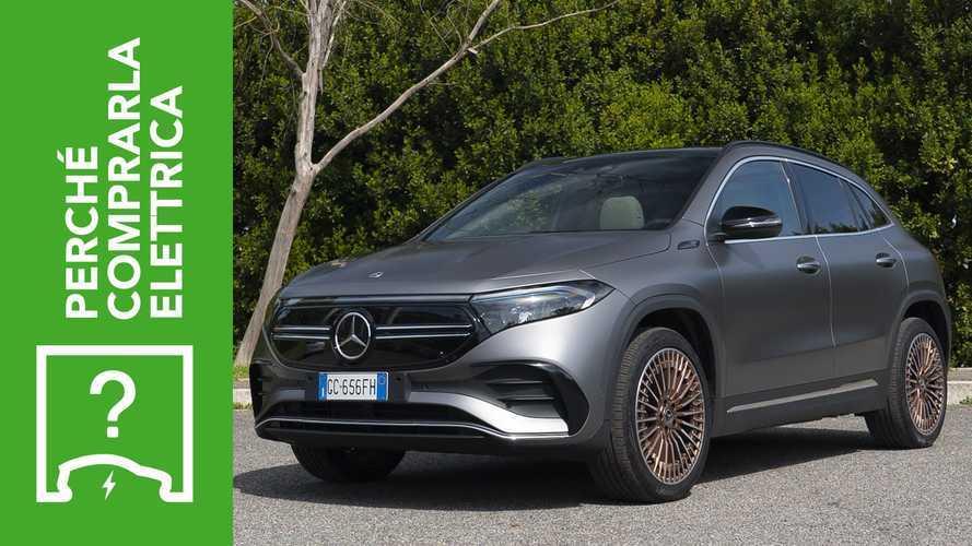 Mercedes EQA (2021), perché comprarla elettrica e perché no