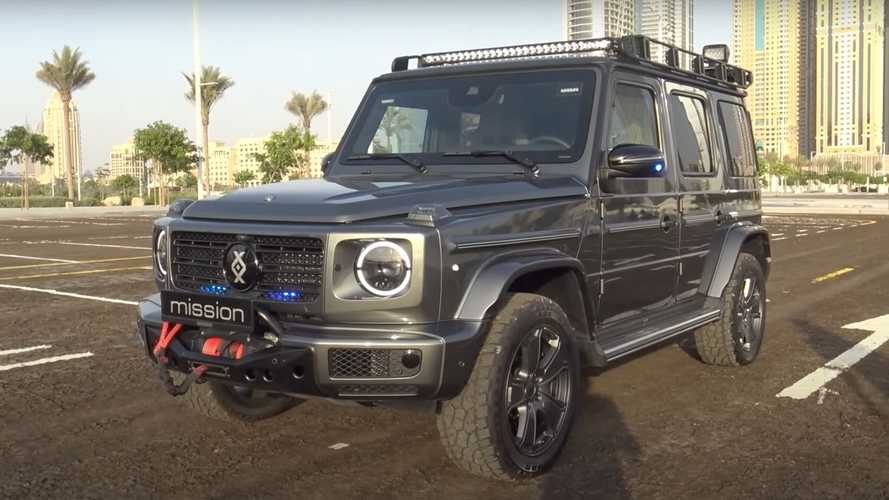 Video Tour Of Armored Brabus G-Wagen Shows All The Extra Kit