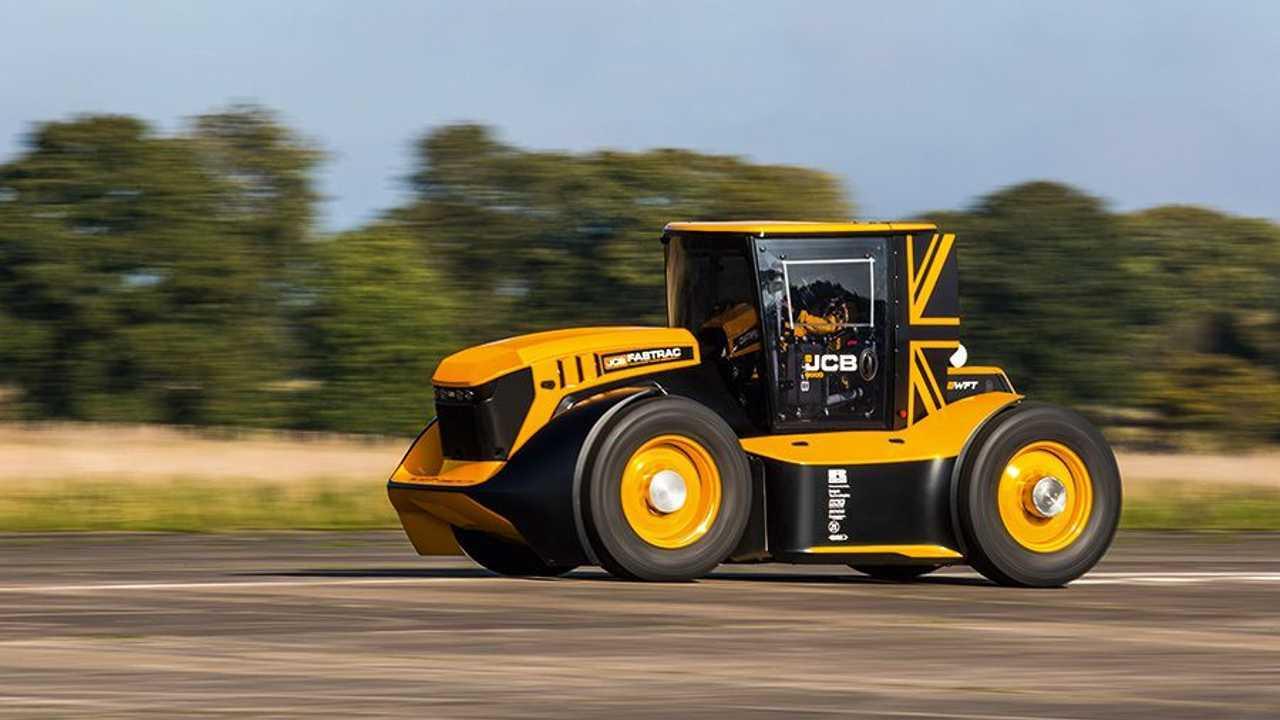 JCB Fastrac, el tractor más rápido del mundo