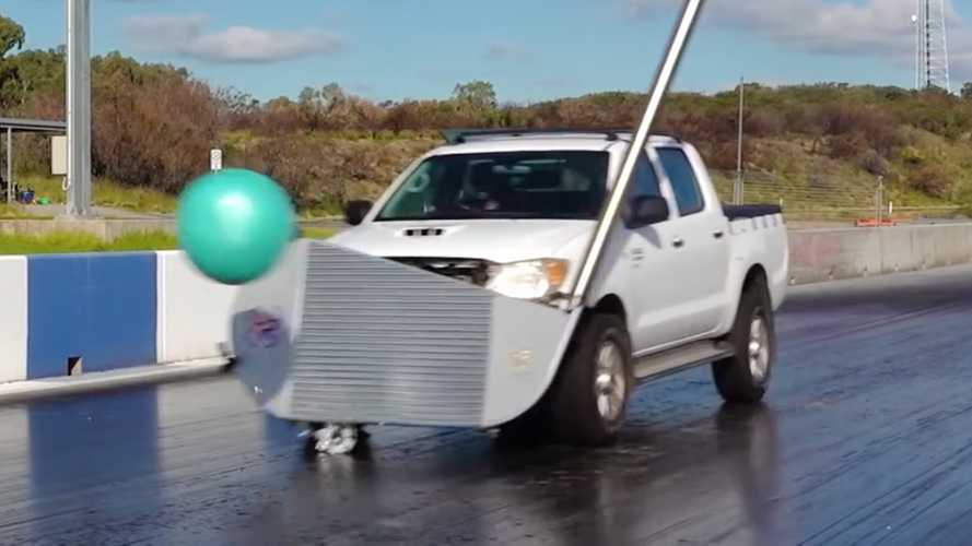 Toyota Hilux Is Turned Into A Golf Club Car For Ridiculous Fun