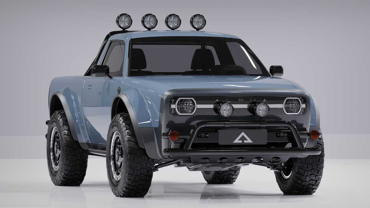 Alpha Wolf Compact Electric Pickup Truck