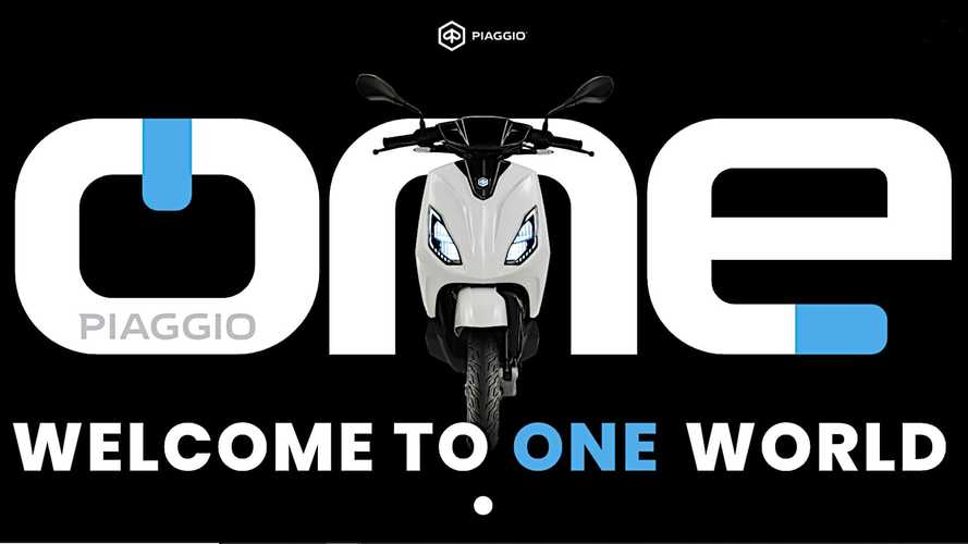 Piaggio One Electric Scooter Details Revealed At Beijing Motor Show