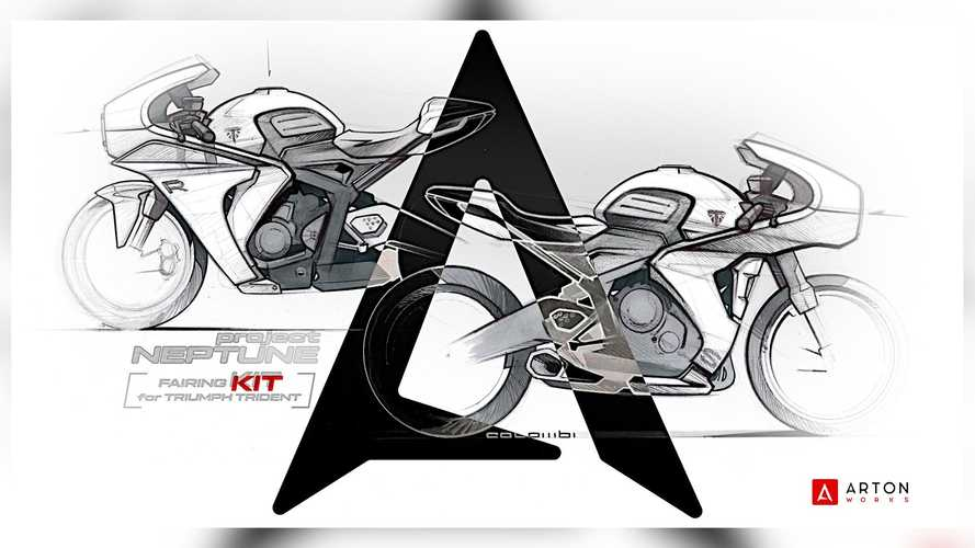 These Bolt-On Fairing Kits For Triumph Trident 660 Are Stunning