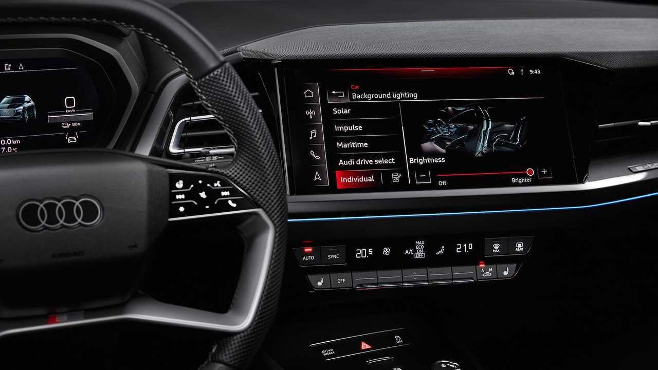 Audi Q4 E-Tron prototípus belső