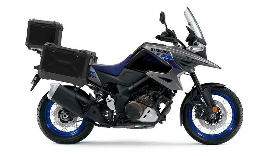 Suzuki V-Strom 1050 dan 1050XT 2021 Muncul dengan Warna Baru