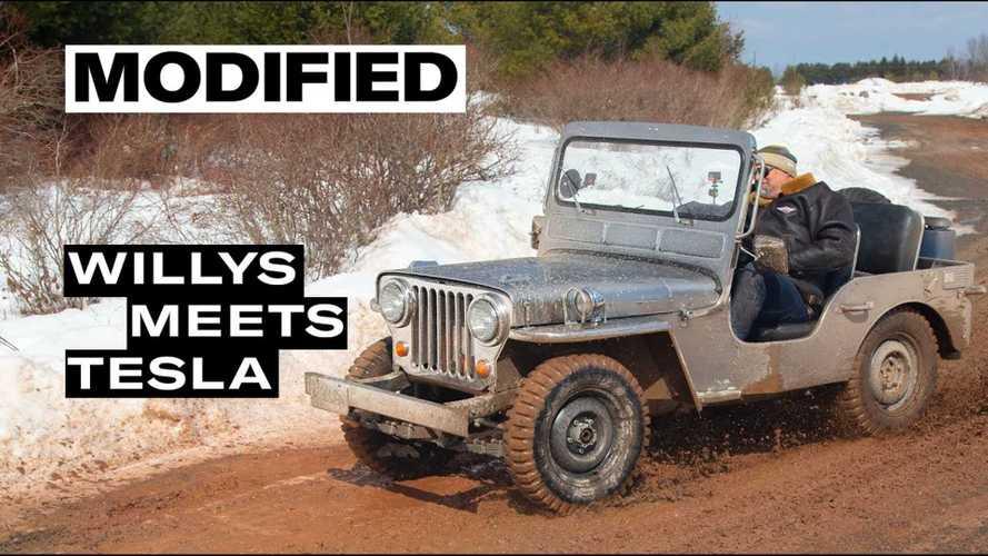 Matt Farah Reviews WWII Era Jeep Electric Conversion Restomod
