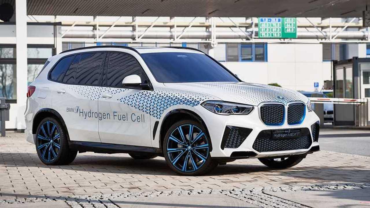 Hidrojen Yakıt Hücreli BMW X5 (BMW i Hydrogen NEXT)