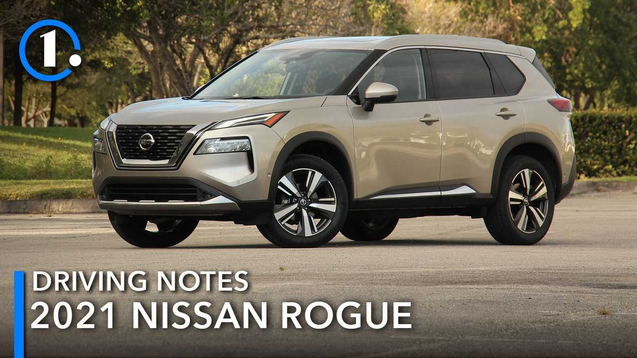 2021 Nissan Rogue Driving Notes