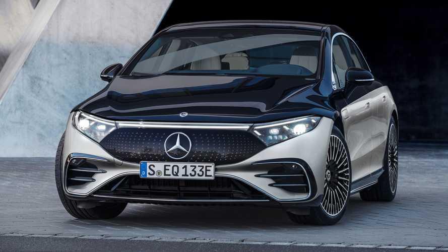 Mercedes EQS - 489€ par an pour les roues arrière directrices !