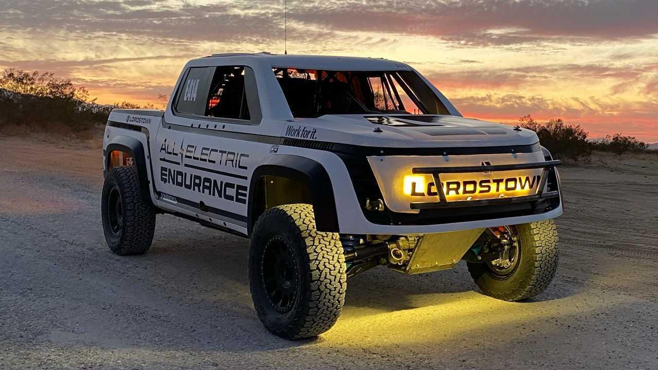 Lordstown Endurance - San Felipe 250 race truck