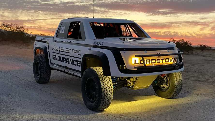 Lordstown Motors Reveals SCORE San Felipe 250 Race Truck
