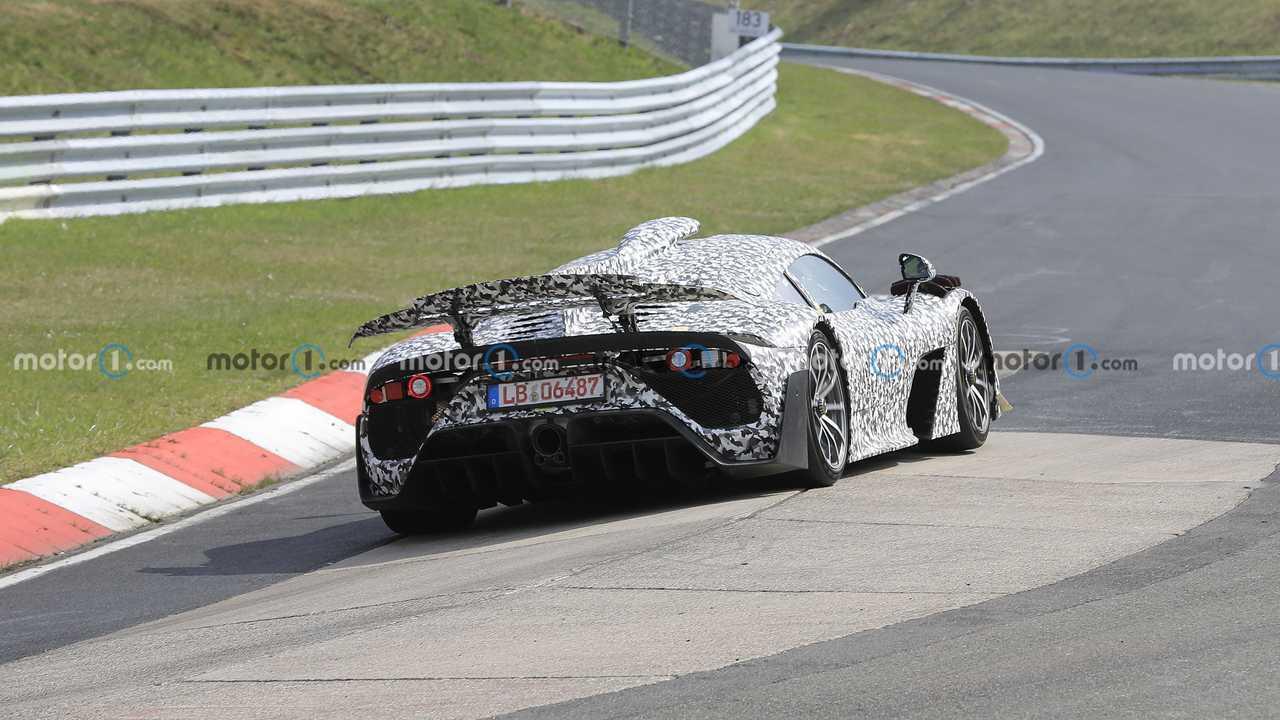 Mercedes-AMG One, fotos de espionagem em Nurburgring