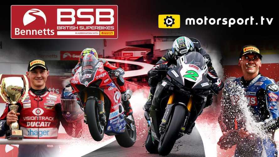 Kejuaraan Superbike Inggris Masuk Daftar Mata Acara Motorsport.tv
