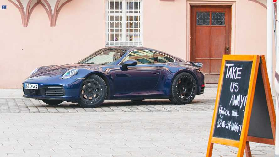 Porsche 911 Looks The Part On Rugged Wheels With All-Terrain Tires