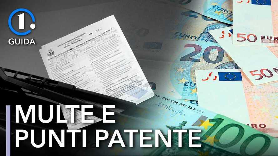Patente a punti, quanti se ne perdono con le varie infrazioni