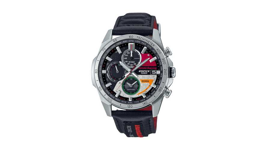 Honda x Casio 60th Anniversary of First GP Win Limited Edition Watch