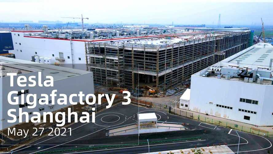 See Tesla Giga Shanghai As Of The End Of May 2021
