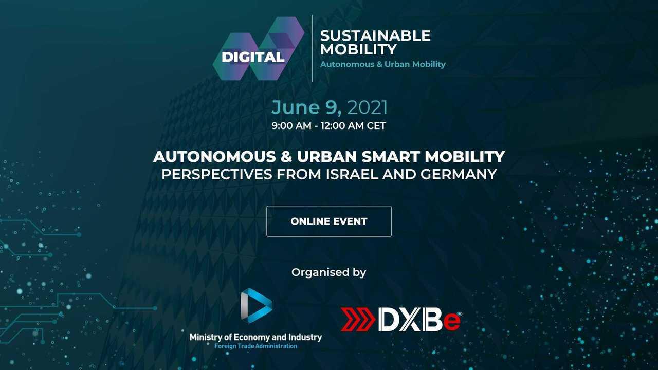 Autonomous & Urban Smart Mobility: Online-Event am 9. Juni 2021