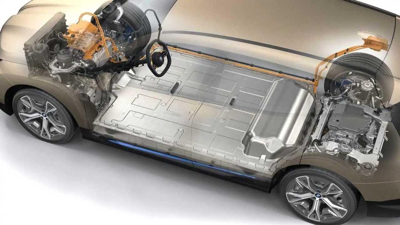 bateria de carros elétricos