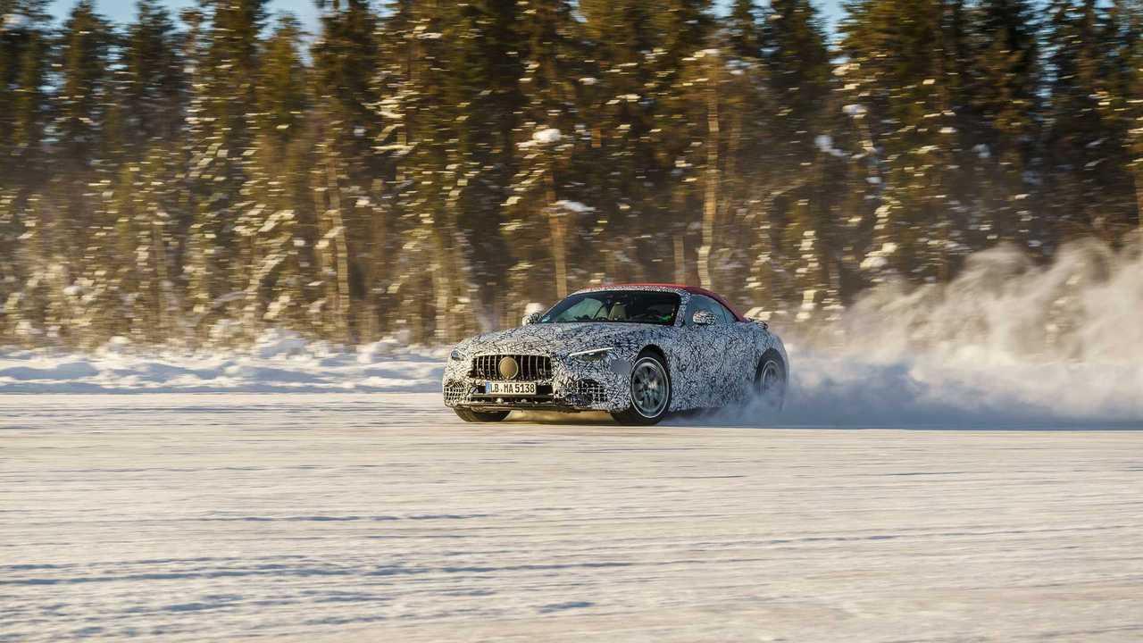 2022 Mercedes-AMG SL Kış Testinde