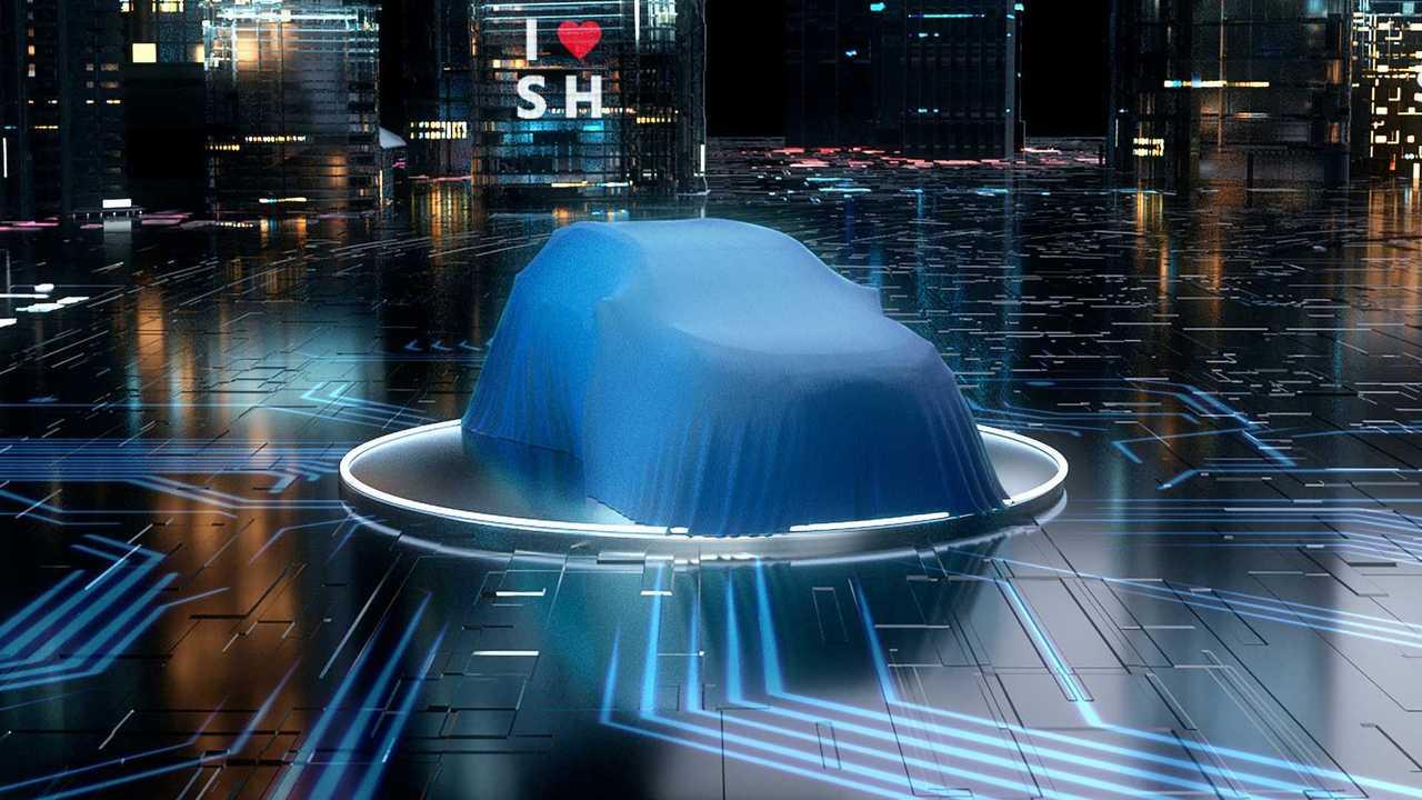 Toyota SUV EV teaser image