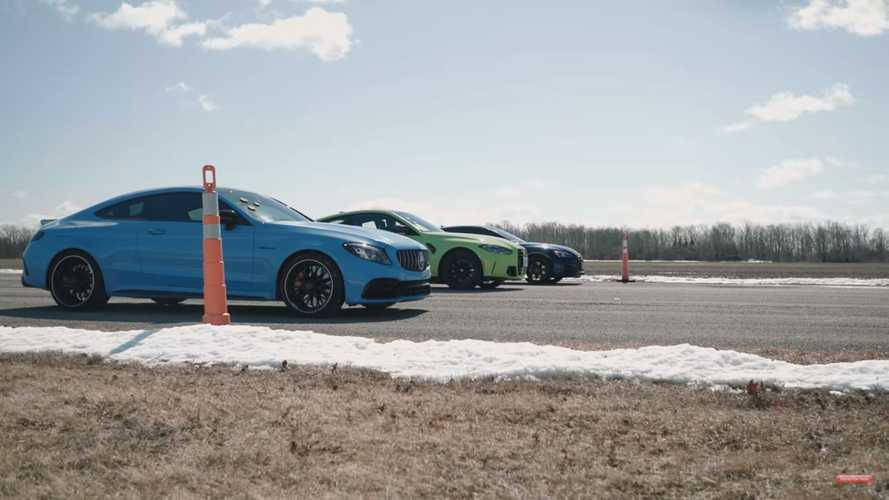 Vidéo - La nouvelle BMW M4 Compétition se fait battre par l'Audi RS 5