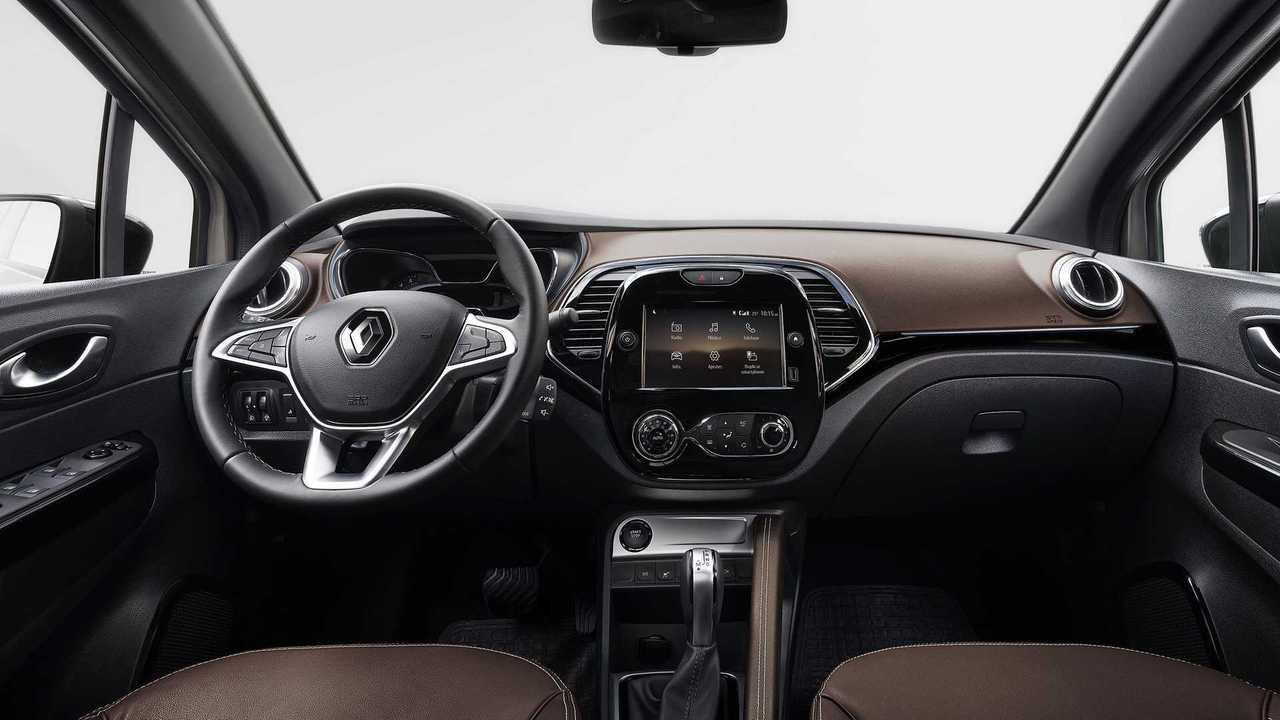 Renault Captur 2022 - interior teaser