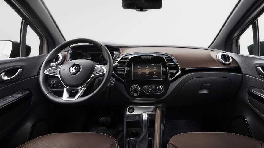 Renault Captur 2022 tem interior revelado