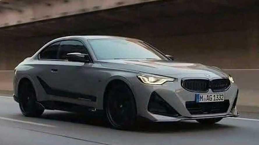2022 BMW 2 Serisi Coupé sızdırılan fotoğraflar