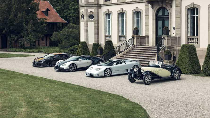 Bugatti reúne todas las versiones Super Sport de la historia