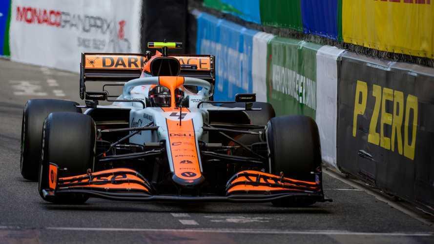 Norris unable to drive McLaren F1 car the way he wants